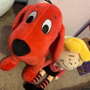 Clifford the Big Red Dog & Emily Elizabeth